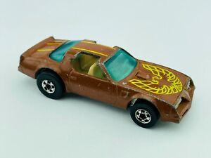 Hot Wheels Blackwall HOT BIRD Brown VG/EX Nice !! TOUGH car !!!