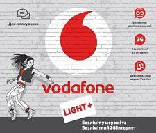 Vodafone Ukraine SIM - The Best Roaming Data Price in Europe mini-micro-nano SIM
