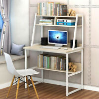 Corner Computer Desk PC Laptop Table Workstation Study Home Office Furniture US