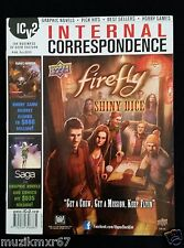 IVC2 Internal Correspondence #88 Fall 2015 FIREFLY - NEVER READ!