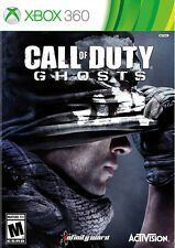 Call Of Duty: Ghosts Xbox 360 With Manual And Case Very Good 2Z