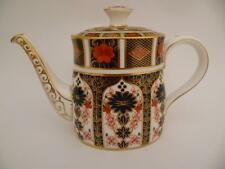 ROYAL CROWN DERBY OLD IMARI 1128 PATTERN  TEA POT 1ST QUALITY