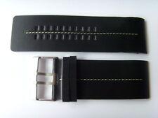 fossil ORIGINAL rechange bracelet en cuir JR9642 de montre Noir