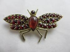 Garnet Silver Brooch/Pin Victorian Fine Jewellery
