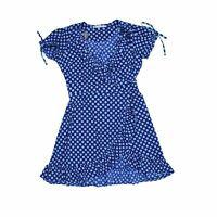 Uttam Boutique Women's Mini Dress 12 Colour:  Blue