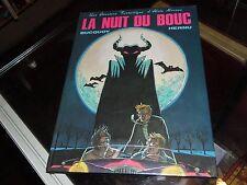 Une aventure fantastique d'Alain Moreau: La nuit du bouc. Bucquoy, Hernu