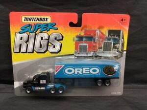 1996 Matchbox Super Rigs Nabisco Oreo Cookie Tractor Trailer MOC!