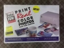FARGO FOTO FUN DIGITAL COLOR PHOTO PRINTER - FOR MAC - 053022 - NEW SEALED