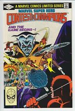 Marvel Super Hero Contest of Champions Vol1 #2 Marvel 1982 NM Unread Copy