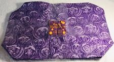 Halloween placemats, purple, pumpkins, table party decor - Brand New.