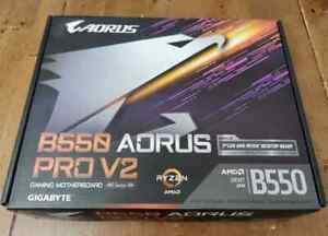 GIGABYTE B550 AORUS PRO V2 AM4 AMD B550 ATX Motherboard, SATA 6 GB/s Motherboard