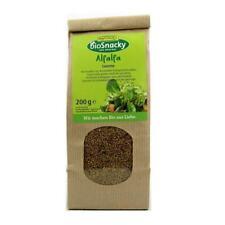 KS  (3,65 EUR/100 g)Rapunzel BioSnacky Alfalfa Keimsaaten vegan bio 200 g