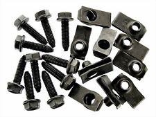 Ford Bolts & U-nut Clips- M8-1.25 x 30mm Long- 13mm Hex- 20 pcs (10ea)- #132