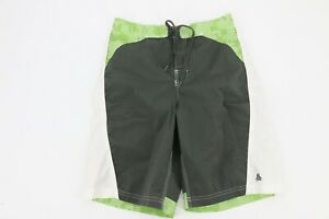 Old Navy Youth Boy's Swim Suit Shorts Trunks Size Large Green