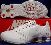 NIB NIKE SHOX DELIVER WHITE PINK GOLD ATHLETIC RUNNING SHOES WOMENS Size 7