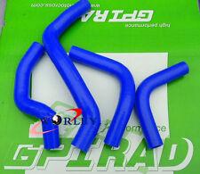 NEW Silicone Radiator Hose for DRZ400E drz 400e 2002-07 K2/K3/K4 03 04 05 BLUE