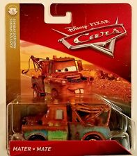 Disney Pixar Cars 3 Mater Diecast Mattel 1:55 2018 Radiator Springs Brown Mater