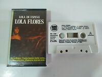 Lola Flores Lola de España Exitos 1988 - Cinta Cassette