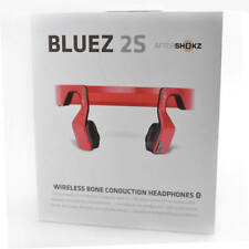 AfterShokz AS500SR Bluez 2S Wireless Bone Conduction Red Headphone