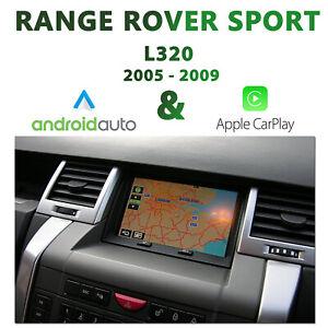 [2005-2009] Range Rover Sport L320 - Apple CarPlay & Android Auto Integration