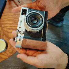 Handmade Wood Hand Grip Quick Release L Plate Bracket For Fuji X100V Fujifilm