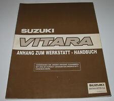 Werkstatthandbuch Anhang Suzuki Vitara SE416 / SE 416 Motor Getriebe Klima