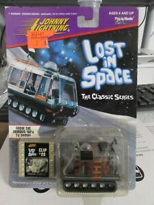Three Johnny Lightning Lost in Space vehicles Jupiter space pod and Chariot
