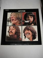 THE BEATLES LP LET IT BE RARE SPANISH ORIGINAL FIRST ISSUE LAMINATED SLEEVE