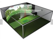 Golf Simulator 3D Indoor Hanaro Vision Plus 3-Screen Realistic Games SEE VIDEO