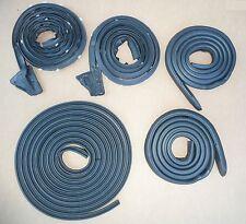 Weatherstrip Seal 5PC Cuda 70 Challenger E-Body USA Metro Door Roof Trunk Rubber