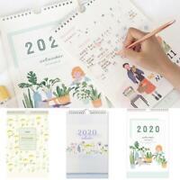 2020 Calendrier mural en papier Calendrier Agenda annuel Agenda Planner Supply