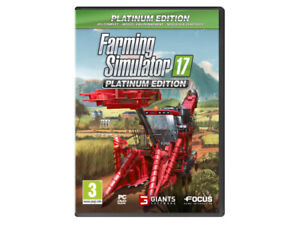 Farming Landwirtschafts-Simulator 17 2017 Platinum **PC Spiel NEU OVP Englisch