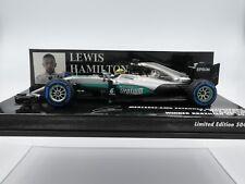 Minichamps 1:43 Lewis Hamilton Mercedes AMG W07 # 44 Winner Brazilian GP F1 2016