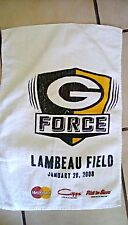 Brett Favre's last game with the Green Bay Packers-nfc championship Title Towel