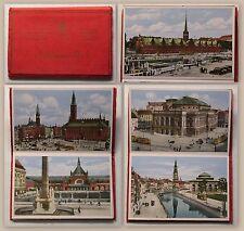Leporello Ansichtskarten Postkarten Koppenhagen Dänemark 10 Karten um 1900 xz