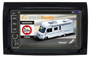 IntelliRoute CA9100 DAB+ Reisemobil-Navigation für Ducato, Jumper, Box