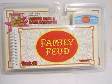 Tiger Family Feud Electronic Handheld Game Answer Book & Cartridge #3 New Sealed