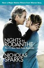 Nights in Rodanthe by Nicholas Sparks (2003, Paperback)