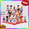 21pcs Set Dragon Ball Z Super Saiyan Goku Vegeta Gohan Omega Shenron Figures Lot