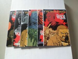 "2016 Walking Dead THE WHISPERER WAR ""Complete Set"" of 6 Comics (157-162) NM/1ST!"