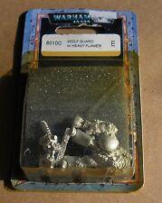 40k Rare oop Blister Metal Space Marine Wolf Guard Terminator Heavy Flamer NIB