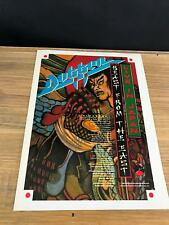 1989 VINTAGE 8X11 ALBUM PROMO PRINT Ad DOKKEN LIVE IN JAPAN BEAST FROM THE EAST