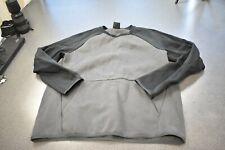 Nike Men's Black & Gray Long Sleeve Shirt, Size Large