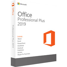 Microsoft Office 2019 Professional - Lifetime Activation - Instant Delivery