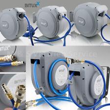 BITUXX® Druckluftschlauchtrommel mit Automatik Schlauchaufroller Wandmontage