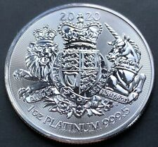 2020 1 Oz Platinum Royal Arms £100 Royal Mint (not Gold)
