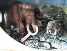 SCHLEICH 16517 Mamuth + 16520 SMILODON Exclusive Scenery Pack 41390