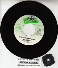"""THE BYRDS  Ballad Of Easy Rider & I'll Feel A Whole Lot Better 7"""" 45 record NEW"""