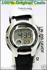 Lw-200-1a Children's 100 Genuine Casio Watch 10 Year Battery Lift 50m LED Light