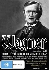 Wagner (DVD, 2011, 4-Disc Set) *Richard Burton* *Plus Special Features*